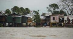 Huracán en Nicaragua.