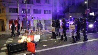 Más de 30 detenidos y 12 heridos tras una noche violenta en Madrid