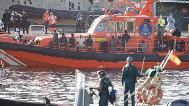 Rescate de la Guardia Civil en Tenerife.