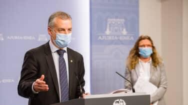 Urkullu decreta el uso obligatorio de mascarilla en la calle
