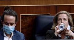 Podemos le declara la guerra total a Calviño tras el nuevo choque por los desahucios