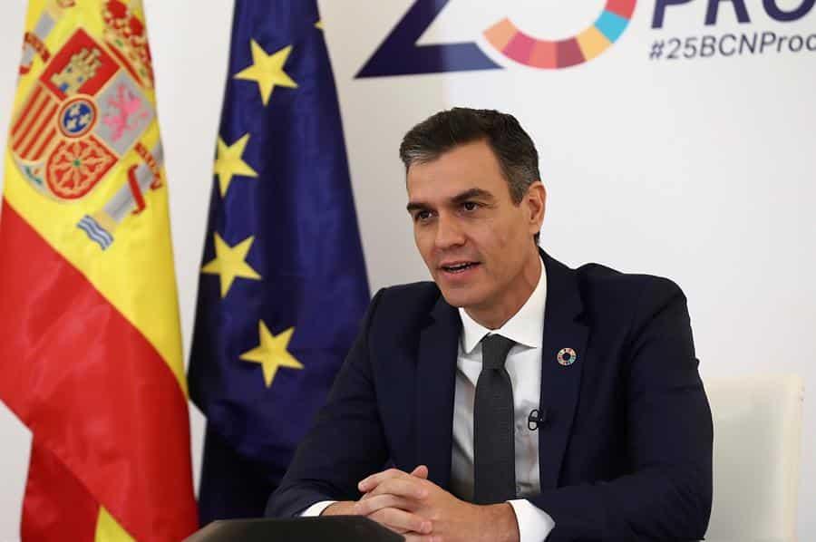 El presidente del Gobierno, Pedro Sánchez.