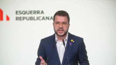 ERC y la CUP anuncian un preacuerdo para la investidura de Aragonés el viernes 26