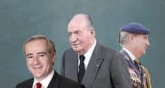 El triángulo de amistad con el que el rey emérito ocultó gastos de lujo a Hacienda
