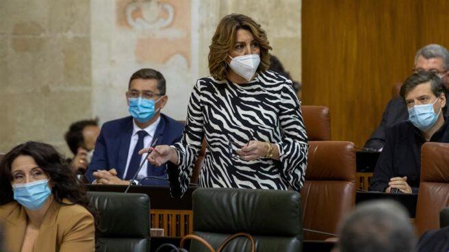 La líder del PSOE de Andalucía, Susana Díaz.