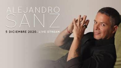 Alejandro Sanz se suma al 'streaming': ofrecerá un concierto digital el 5 de diciembre