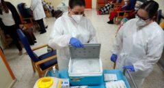 Inicio de la vacunación en Torrent (Valencia).