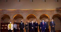 El presidente de Castilla-La Mancha, Emiliano García-Page, se reúne con los presidentes de Aragón, Javier Lambán, y de Castilla y León, Alfonso Fernández Mañueco.