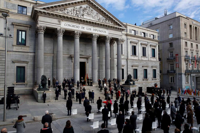 Celebración en el Congreso del Día de la Constitución.