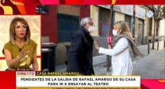 'Socialité' intenta entrevistar a los padres de Rafael Amargo.
