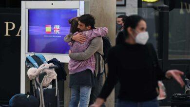 España mantiene 175 vuelos con Reino Unido este martes pese a la cepa británica