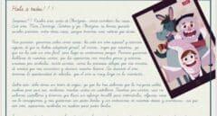 """El 'Olentzero' riñe a los niños por no escribirle en euskera y les advierte de que """"no entendemos"""" las de castellano"""
