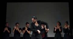 Rafael Amargo actuando en San Sebastián. EFE.