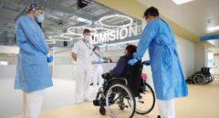 Una mujer de 63 años, primera paciente del Hospital Isabel Zendal de Madrid