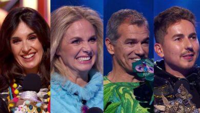 'Mask Singer' desenmascara a Paz Vega, Genoveva Casanova, Toni Cantó y Jorge Lorenzo en su final