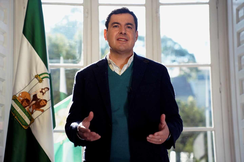 Juanma Moreno, presidente de Andalucía.