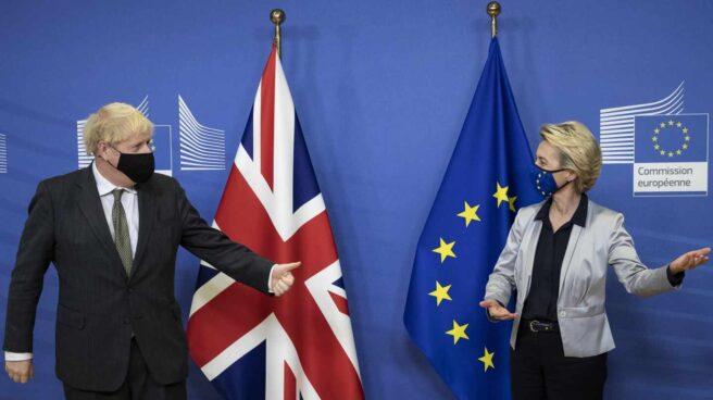 Boris Johnson-Ursula von der Leyen-Brexit