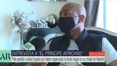 """El 'Príncipe Africano' se pronuncia sobre sus fiestas VIP ilegales: """"Quiero pedir perdón a España"""""""