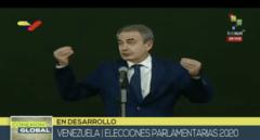 """Zapatero pide a la UE y a la oposición venezolana que """"reflexionen"""" sobre su rechazo a participar en las elecciones"""