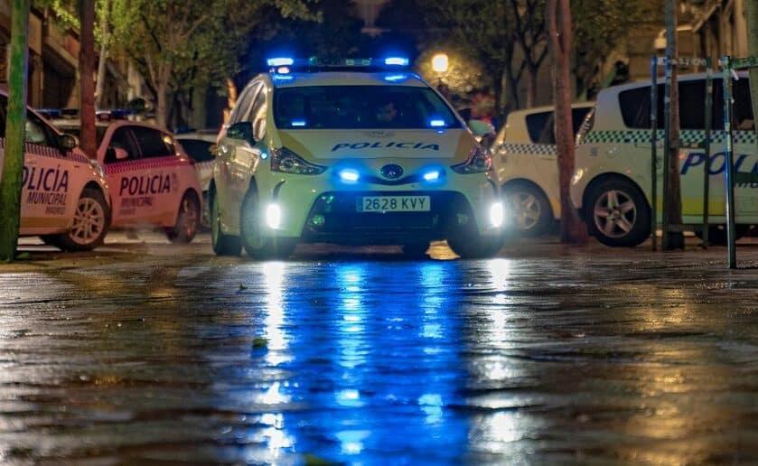 Imagen de la Policía, via Twitter.