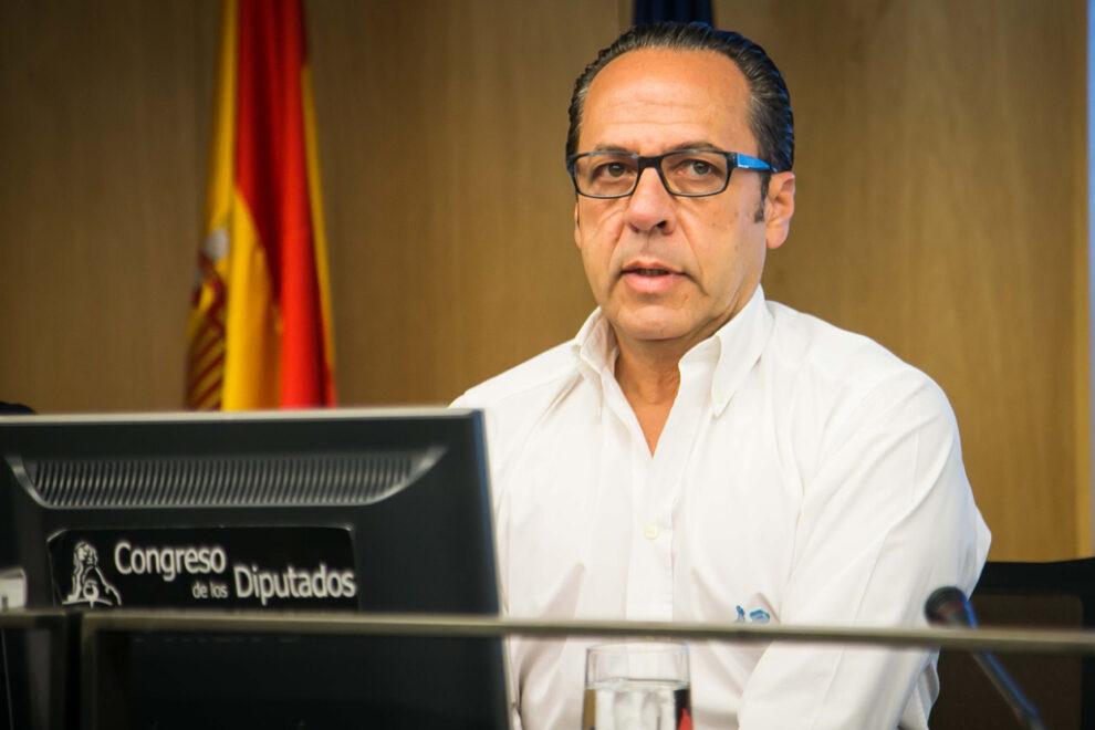 Álvaro Pérez 'El Bigotes' comparece en la Comisión de Investigación sobre el PP en el Congreso.