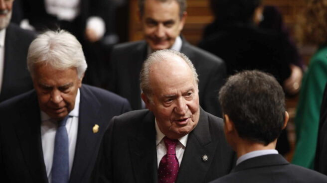 Don Juan Carlos, en el Congreso.