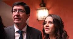 """El """"divorcio"""" de Marín y Arrimadas acerca al  vicepresidente andaluz al PP"""