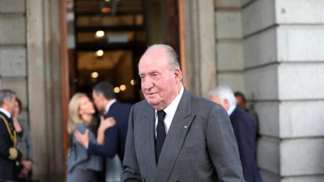 El rey emérito, Don Juan Carlos I.