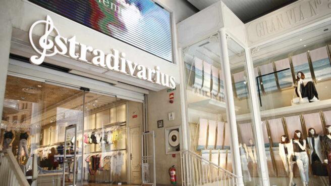 Una tienda de Stradivarius, del grupo Inditex.