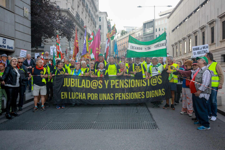 pensionistas-marcha-manifestación-jubilados