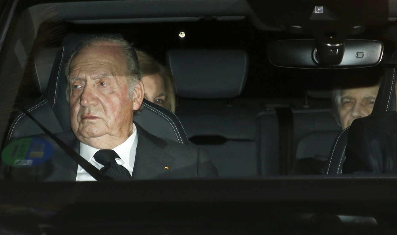 El Rey Emérito Don Juan Carlos.