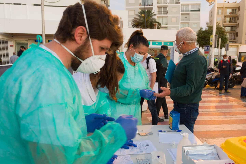 Test para acceder a Formentera.