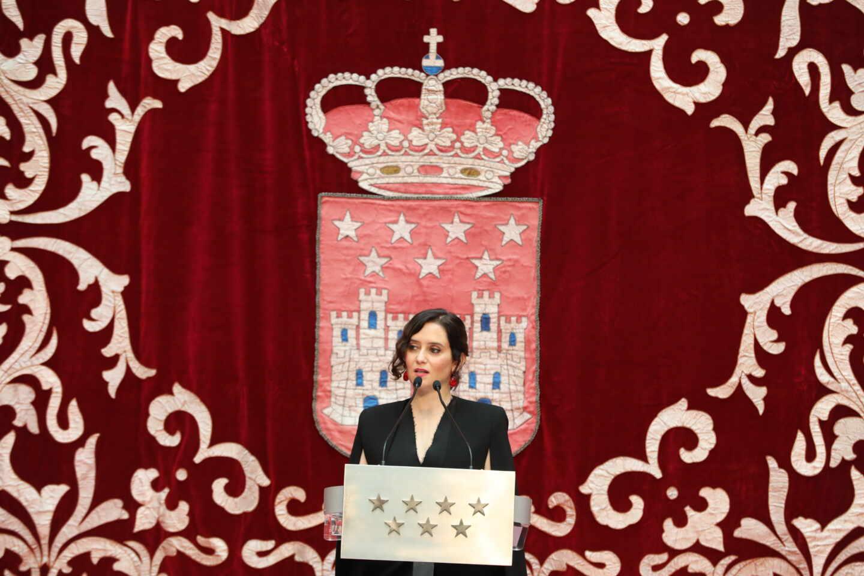 Acto de homenaje de Madrid a la Constitución