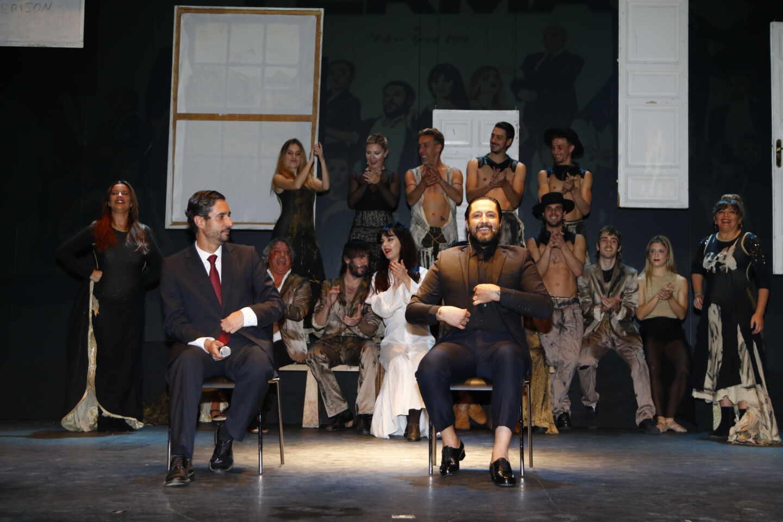 Rafael Amargo, en el teatro La Latina.