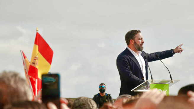 Santiago Abascal, presidente de Vox. EP.