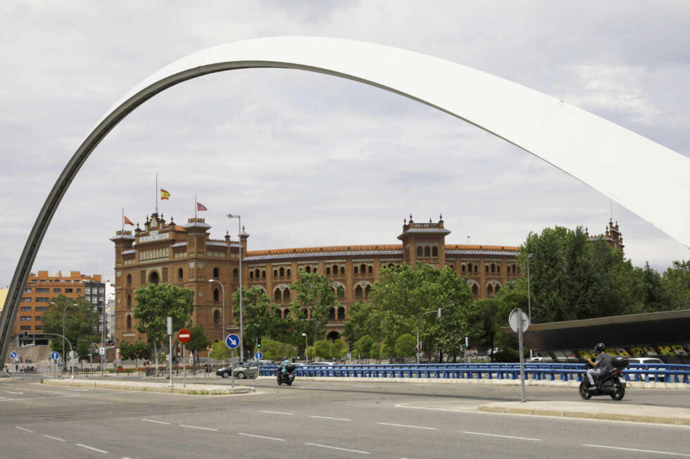 La Plaza de Toros de Las Ventas en Madrid