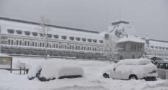 Nieve en el Pirineo aragonés.