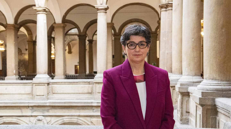 Ministra española Exteriores Arancha González Laya