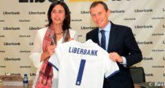 Liberbank seguirá siendo el banco del Real Madrid aunque cambie de nombre tras la fusión con Unicaja