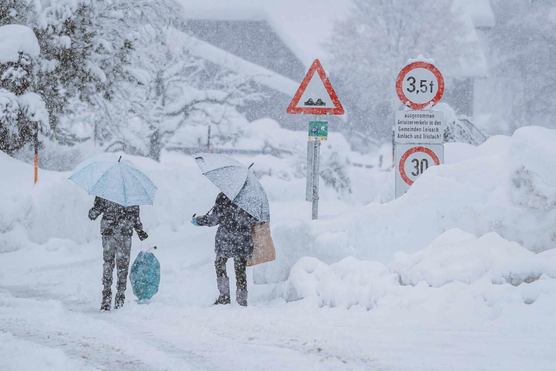 Nochebuena teñida de blanco el paso de un frente frío podría traer nevadas en varias provincias