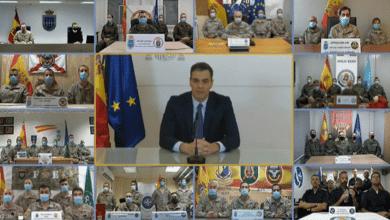 """Sánchez agradece a las Fuerzas Armadas su """"labor leal y callada al servicio de la democracia"""""""