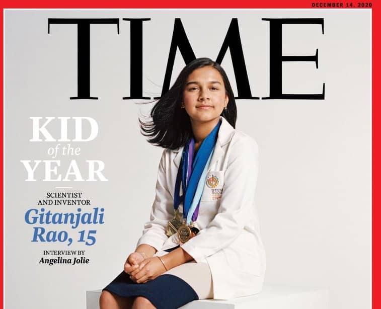 La portada de la revista 'Time'.