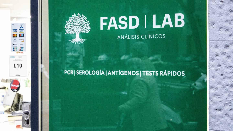 Fachada del laboratorio FASD Lab de Madrid