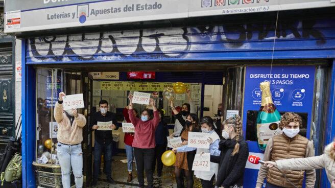 Un repartido Segundo Premio (6095) salpica millones de euros en varios puntos de España