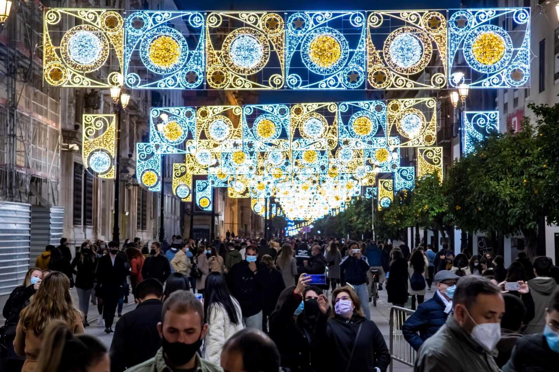"Encendido navideño ""por sorpresa"" en Sevilla"