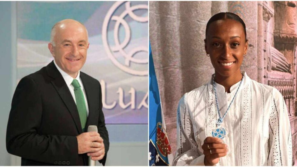 Xosé Ramón Gayoso y Ana Peleteiro darán las campanadas en la Televisión de Galicia