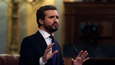 """Casado, a Sánchez: """"Esto no es un estado de alarma. Es una alarma de Estado"""""""