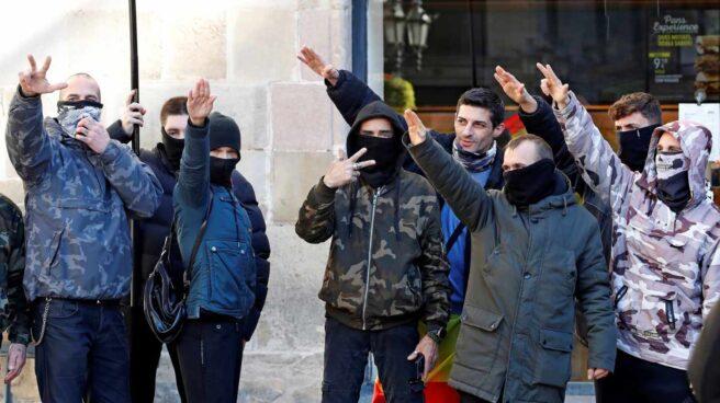 Asistentes al acto de Vox en Barcelona.