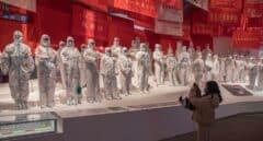 Exposición dedicada a la pandemia de coronavirus en Wuhan