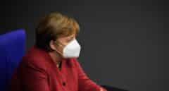 """Merkel reconoce que un trimestre de vacunación no supondrá un """"cambio significativo"""""""